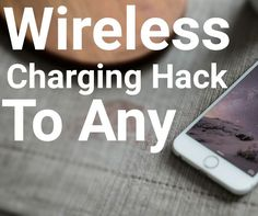 Magnetic Wireless Charging Hack To Any Smartphone For Free !!!