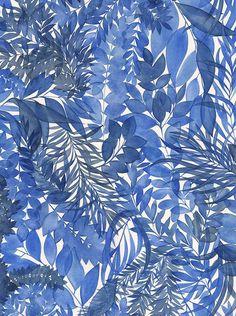 Blue secret garden   Natalie Ryan