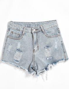 Shorts Denim bolsillos -azul 12.88