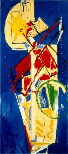 Hans Hofmann / Untitled (Chimbote Mural) / 1950 / Oil on paper on board