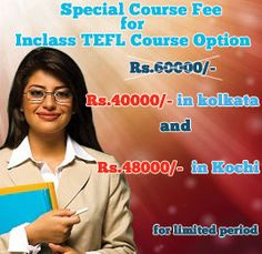 These online TEFL courses are a great opportunity for students, professionals, aspirants, homemakers and even experienced teachers to get a certified teacher training course enabling them to get teaching jobs in India and abroad.