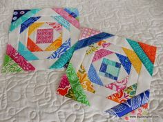 A Quilting Life - a quilt blog: Favorites: Pineapple Quilt Blocks