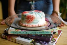 A beautiful cake I maid in celebration of the coming spring. Let it bloom. Also recipes and how to on my blog. Recipe Journal, Food Journal, Painted Cakes, Beautiful Cakes, My Recipes, Maid, Celebration, About Me Blog, Bloom