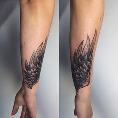 Flügel Tattoo 56 - - old school frases hombres hombres brazo ideas impresionantes japoneses pequeños tattoo Tattoo Girls, Tattoo Women, Girl Tattoos, Tattoos For Guys, Tattoos For Women, Forearm Wing Tattoo, Neck Tatto, Top Tattoos, Body Art Tattoos