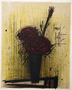 BERNARD BUFFET, ROSES, 1966-69