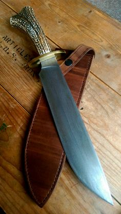 custom knife maker based in the North of England