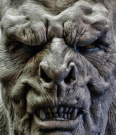 orc - check the lines - nice Creature Feature, Creature Design, Fantasy Races, Fantasy Art, Fantasy Demon, Zbrush, Hai Tattoo, Makeup Fx, Prosthetic Makeup