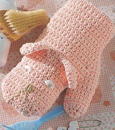 Bath Mitt Puppet | Crochet Mitt | Free Crochet Pattern on  Joann.com
