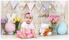 Spring/ Easter Mini Sessions, LDavila Photography, Baby Girl Photography, 6 months