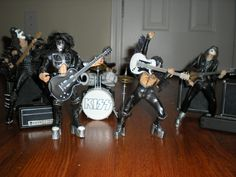 KISS ACTION FIGURE STAGE SET