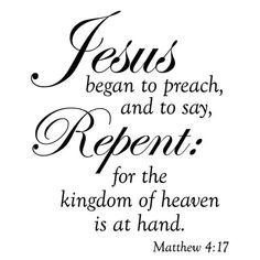 Matthew 4 17 - Bing images