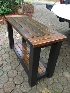 Awesome Wood Table Creations You Can Sell DIY Table Plans - wood working projects