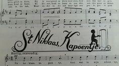 Sinterklaas 'liederen' illustraties