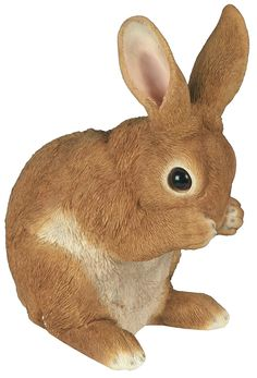 Animal Resin Sculpture Figurine Baby Rabbit *** Continue to the product at the image link. (This is an affiliate link) #GardenDecor
