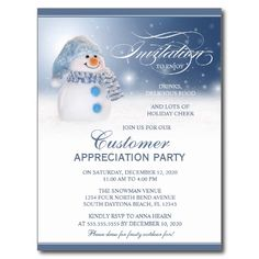 Holiday Soiree Invitations  Business Christmas  Party Invitations