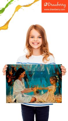 Preserve your cherished memories by getting a great family painting from Drawberry Picture To Canvas Painting, Family Painting, Family Comes First, Love My Family, Cherished Memories, Canvas Pictures, Best Artist, Precious Moments, Preserve