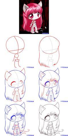Chibi, Drawings, Crafts, Manualidades, Sketches, Handmade Crafts, Drawing, Craft, Portrait