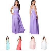 Wish   Women Party Dresses Bohemian Lace Hollow Chiffon Long Dress