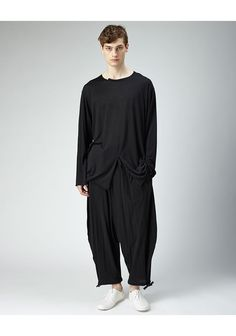 Yohji Yamamoto / Drop Crotch Jersey Pant - if you want to part with 631 bucks, sure go for it...otherwise 40bucks worth of quality jersey and you can DIY it brilliantly!!!