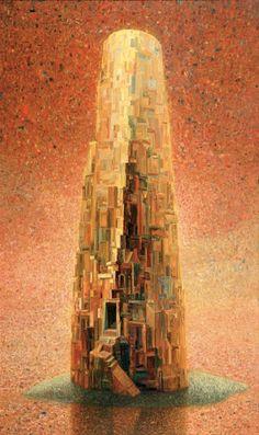 Arunas Zilys, 1953 ~ Mythic Surrealist painter