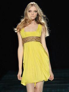 Vlada Roslyakova at Versace s/s 2008