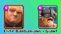 Elite barbs with giant and witch by I_AM_GROOOT Clash Royale, Barbarian, Battle, Witch, Lunch Box, Deck, Witches, Witch Makeup, Decor