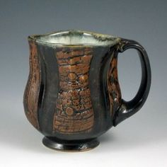Coffee Mug from Eric Botbyl Pottery on Square Market Artist At Work, Tea Cups, Coffee Mugs, Pottery, Clay, Ceramics, Tumblers, Gallery, Tableware