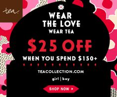 Wear the love and give back this month with Tea Collection!   Epic Mommy Adventures