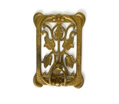 Art Nouveau Speakeasy Door Peep Hole Knocker