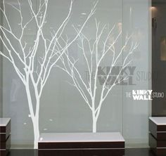 Vinyl mural autocollant Wall Sticker arbre decal par KinkyWall