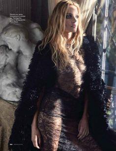 "Duchess Dior: ""Time Ago"" Valetina Zeliaeva for ELLE Russia December 2015"