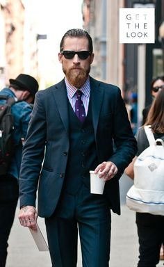 The ever dapper Justin O'Shea x #streetstyle | B Insider
