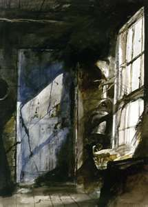 The Blue Door by Andrew Wyeth...