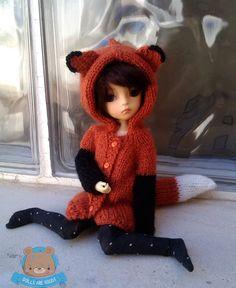 Pre-order chaqueta Fox para YOSD Littlefee o YOSD delgado