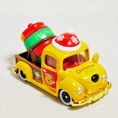 TOMICA DISNEY MOTORS MIXER TRUCK Winnie the Pooh Christmas 2014