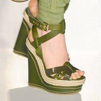 Green Wedges – Alternative To Stilettos