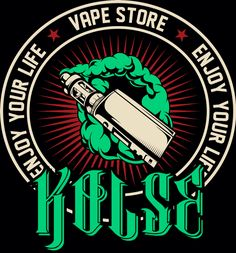 Logo for kolse vape store