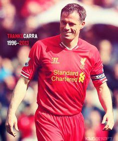 Jamie Carragher #23 LFC Legend.