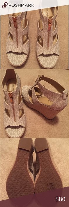 Michael Kors Wedge!!! Brand new never worn!!! MICHAEL Michael Kors Shoes Wedges