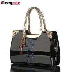 New brand handbag patent Korea fashion single shoulder bag