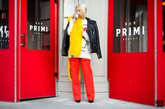 USP Street Style Trend: Primary Brights