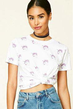 A unicorn tee you can wear with anything. | 37 Awesome Things You Should Buy At Forever 21 Right Now