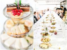Anna-Li and James had a gorgeous afternoon tea for their wedding reception