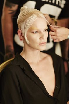 Backstage Pam Hogg