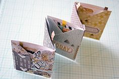 How do you record your summer memories? Be sure to share a link to your summer projects! ~Aly Supplies: Envelope Punch Board Indian Summer Paper Pack Indian Summer Albums Made Easy Cards Mini Albums Scrap, Mini Scrapbook Albums, Envelope Punch Board Projects, Round Robin, Envelope Maker, Bookbinding Tutorial, Handmade Journals, Handmade Boxes, Shabby