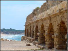 Caesarea Aqueduct -  Caesarea, Israel