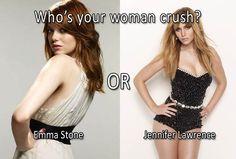 Emma Stone vs Jennifer Lawrence