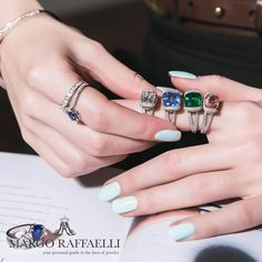 """2,753 Likes, 12 Comments - Margo Raffaelli (@hernameismargo) on Instagram: """"My Tsarina moment with @baycojewels wearing their exceptional Colombian #emerald suite ❤️ Credit:…"""""""