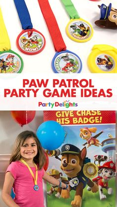 Looking for fun Paw Patrol games? Take a look at our Paw Patrol party game ideas for tonnes of inspiration including pin the badge on Chase, barking contests, puppy piñatas and more!