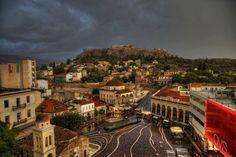 Das Wetter heute in Athen...